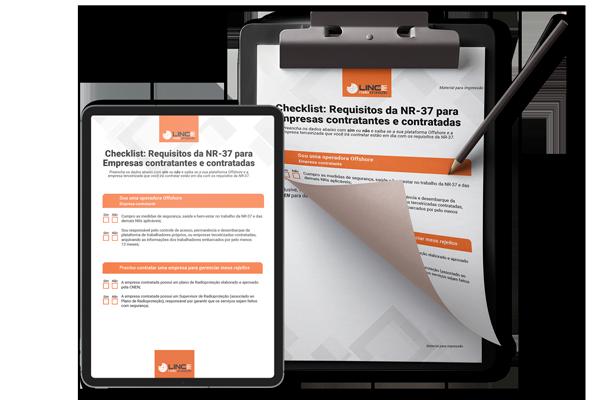 Checklist: Requisitos da NR – 37 para empresas contratantes  e contratadas