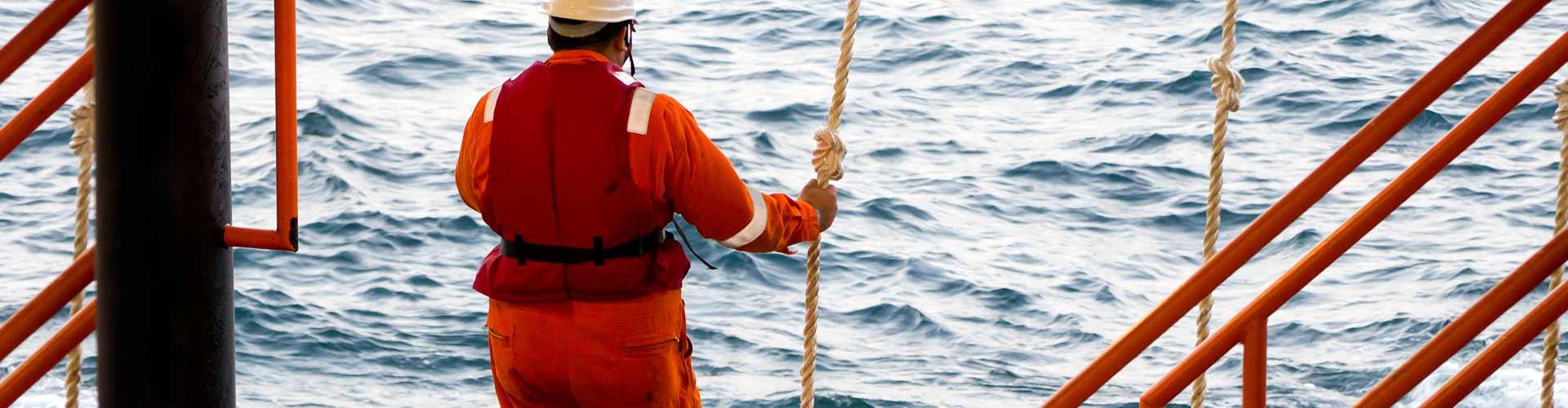 Quais são os procedimentos de rotina em Radioproteção no Offshore?